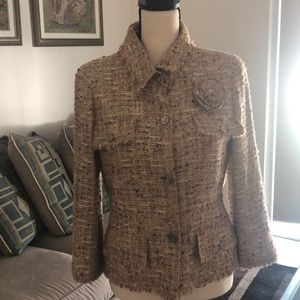 Vintage Chanel tweed jacket